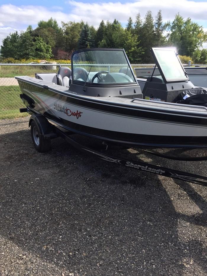 Aluminum Fishing Boats For Sale >> Alumacraft Trophy 175 2018 New Boat For Sale In Fergus Ontario Boatdealers Ca