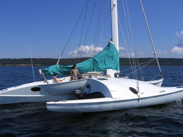1995 Newick Creative Trimaran Photo 3 of 33