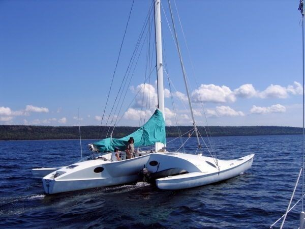 1995 Newick Creative Trimaran Photo 4 of 33