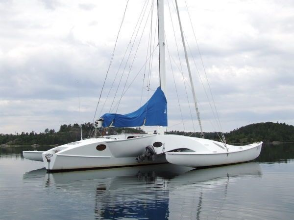 1995 Newick Creative Trimaran Photo 6 of 33