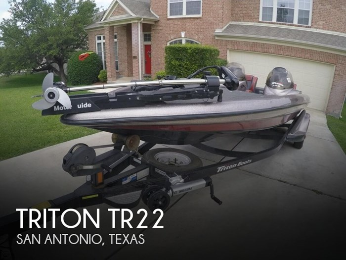 2003 Triton TR22 Photo 1 sur 20