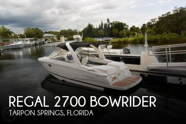 2011 Regal 2700 Bowrider Photo 1 sur 20