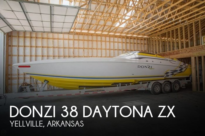 2001 Donzi 38 Daytona ZX Photo 1 of 21