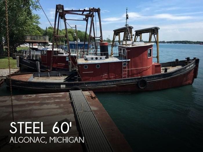 1913 Steel Riveted Steel Tug Photo 1 of 20