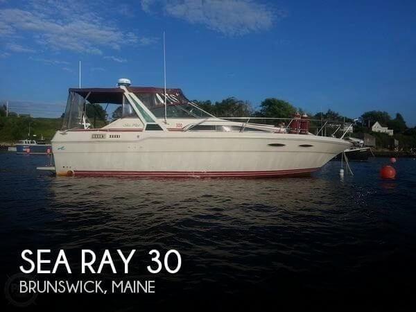 1986 Sea Ray 300 Weekender Photo 1 sur 20