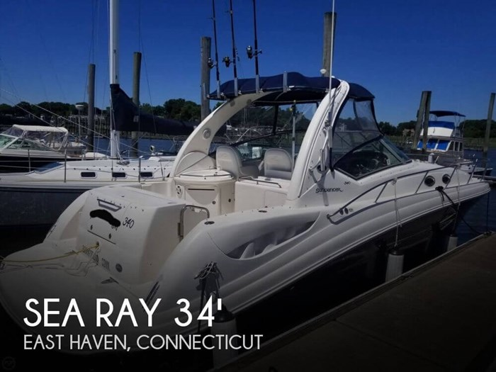 Sea Ray 340 Sundancer/Sportsman Package 2005 Used Boat for Sale in East  Haven, Connecticut - BoatDealers ca