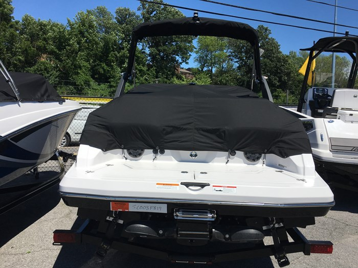 2019 Scarab 215 Identity Jet Twin Rotax 200HP WB Tower Trailer Photo 8 sur 8