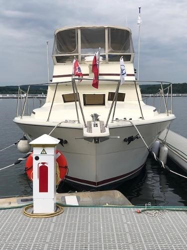 Viking Yachts 43 Aft Cabin 1977 Used Boat for Sale in Hamilton, Ontario -  BoatDealers ca