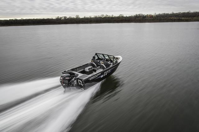 2019 Crestliner 1850 Commmander Elite Silver-Met / Black Photo 4 of 22