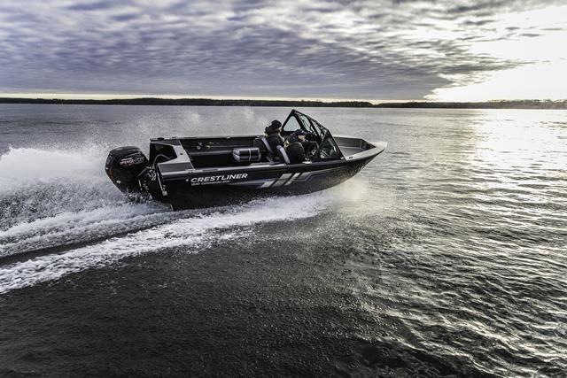 2019 Crestliner 1850 Commmander Elite Silver-Met / Black Photo 6 of 22