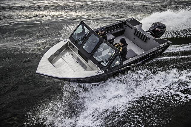 2019 Crestliner 1850 Commmander Elite Silver-Met / Black Photo 7 of 22