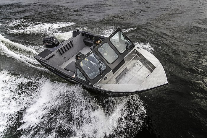 2019 Crestliner 1850 Commmander Elite Silver-Met / Black Photo 17 of 22