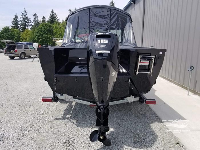 2019 Crestliner 1850 Commmander Elite Silver-Met / Black Photo 9 of 52
