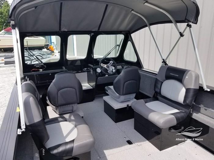 2019 Crestliner 1850 Commmander Elite Silver-Met / Black Photo 17 of 52