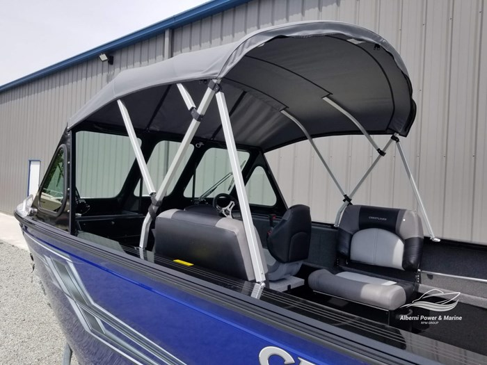 2019 Crestliner 1850 Commmander Elite Silver-Met / Black Photo 16 of 52