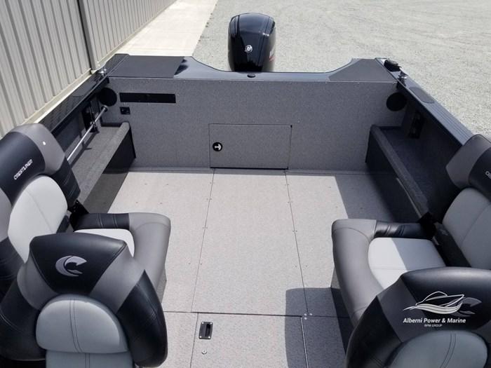 2019 Crestliner 1850 Commmander Elite Silver-Met / Black Photo 18 of 52