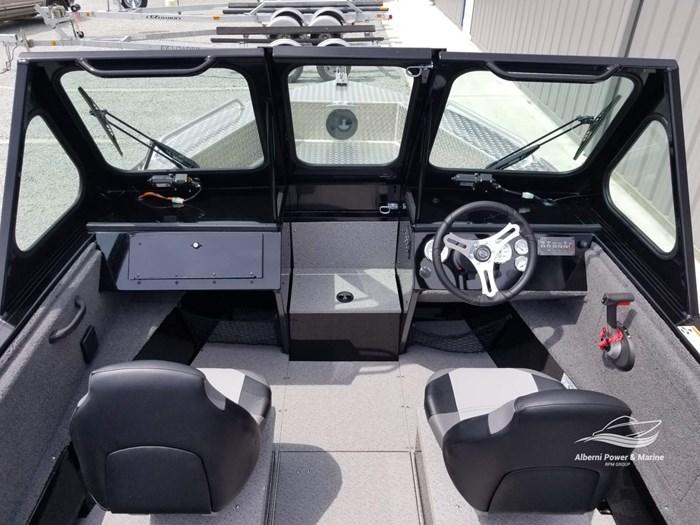 2019 Crestliner 1850 Commmander Elite Silver-Met / Black Photo 26 of 52