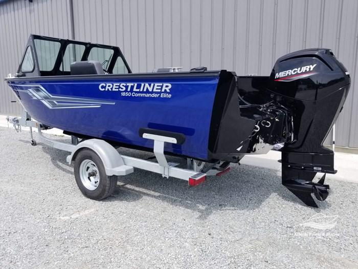 2019 Crestliner 1850 Commmander Elite Silver-Met / Black Photo 5 of 52