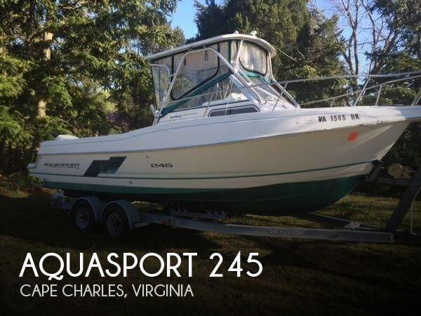 1996 Aquasport 245 Photo 1 of 20
