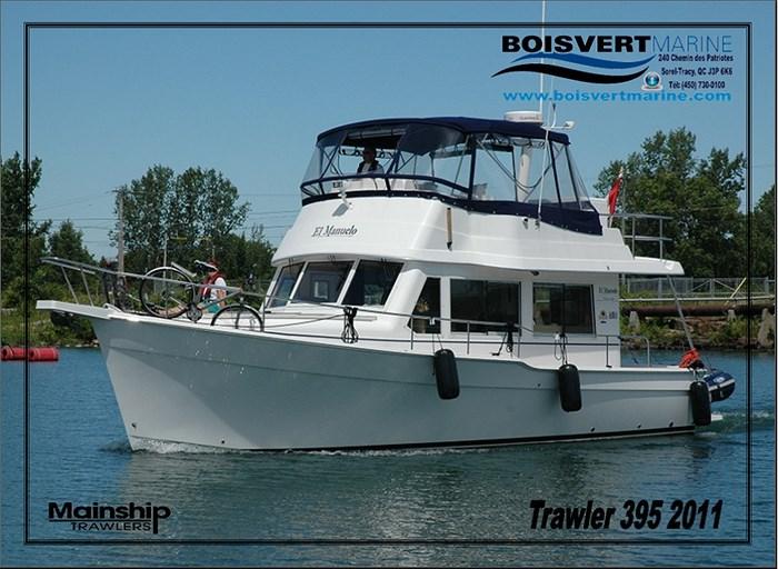 2011 Mainship Motor Yachts TRAWLER 395 Photo 1 of 41