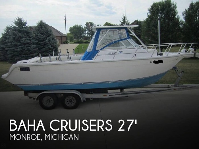 1999 Baha Cruisers 271 WAC Photo 1 sur 20