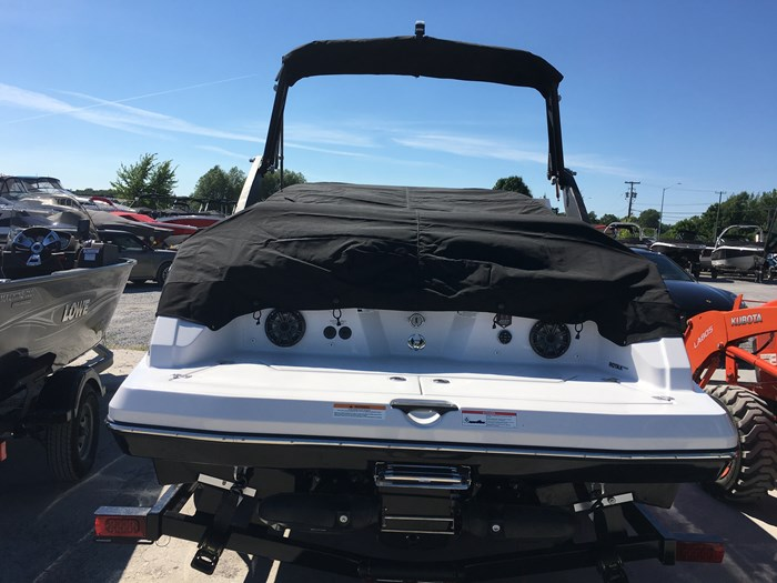 2019 Scarab 215 Identity Jet Twin Rotax 200HP WB Tower Trailer Photo 6 sur 21