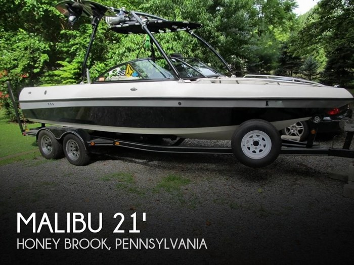 2002 Malibu Wakesetter VLX Photo 1 sur 20