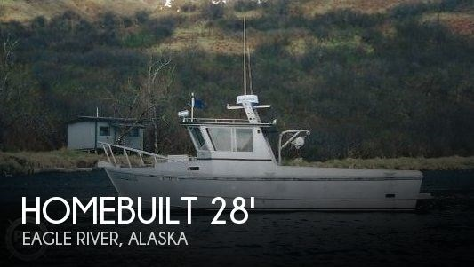 1990 Homebuilt 28 Commercial Quality Workboat Photo 1 sur 18