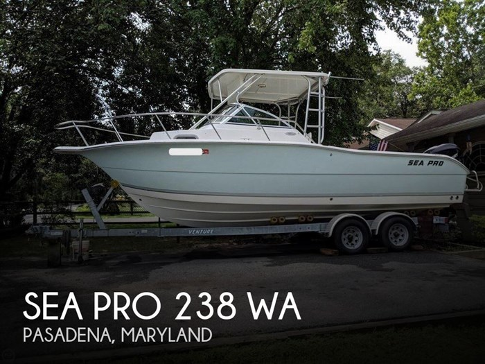 2006 Sea Pro 238 WA Photo 1 sur 20