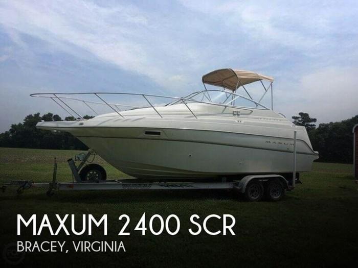 2000 Maxum 2400 SCR Photo 1 of 20