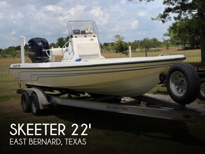 Skeeter Bass Boats For Sale >> Skeeter Zx 22 Bay Tunnel 2004 Used Boat For Sale In East Bernard Texas Boatdealers Ca