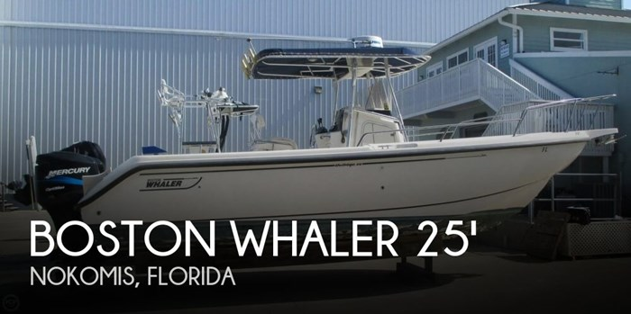 Boston Whaler 26 Outrage 2001 Used Boat for Sale in Nokomis, Florida -  BoatDealers ca