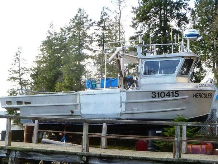 Aluminum Boats For Sale Bc >> Northwest Aluminum Craft Inc Crab Prawn Boat 2001 Used Boat For Sale In Victoria Sooke British Columbia Boatdealers Ca