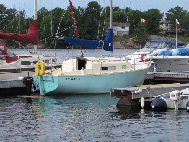 1977 Ou Yang Boatworks Limited, Whitby Matilda 23 Photo 4 of 15