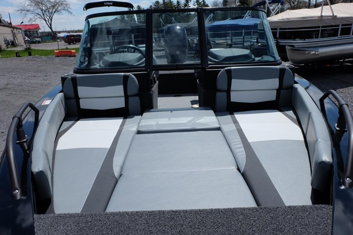 2019 Lowe FS 1800 Merc 115HP Trailer Fish Finder Stereo Photo 18 of 18