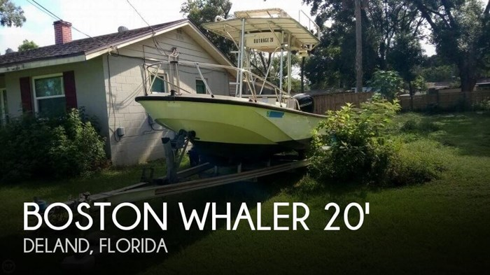 1979 Boston Whaler Outrage V-20 Photo 1 sur 20