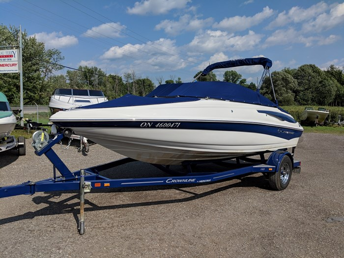 Crownline 185 SS 2013 Used Boat for Sale in Rideau Ferry, Ontario ...