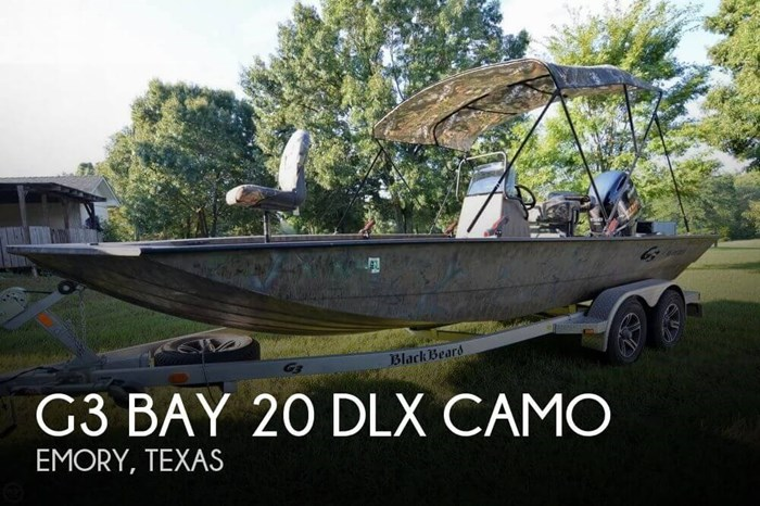 G3 Bay 20 Dlx Camo 2014 Used Boat For Sale In Emory Texas Boatdealers Ca
