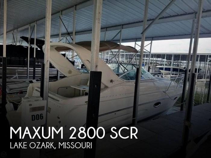 1999 Maxum 2800 SCR Photo 1 sur 20