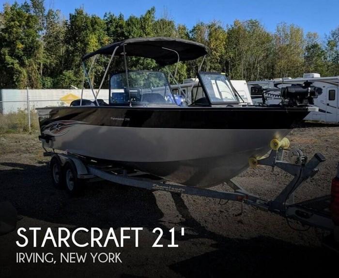 2015 Starcraft Fishmaster 210 Photo 1 sur 20