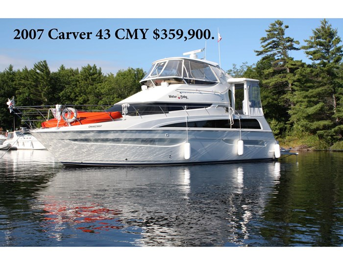 2007 Carver 43 Motor Yacht Photo 1 of 73