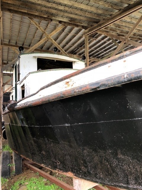 1945 PROJECT BOAT 35' RUSSEL BROS ALLIGATOR TUG Photo 3 sur 14