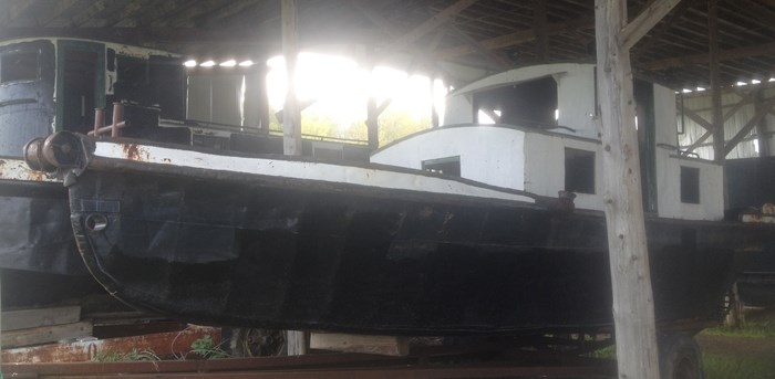1945 PROJECT BOAT 35' RUSSEL BROS ALLIGATOR TUG Photo 4 sur 14