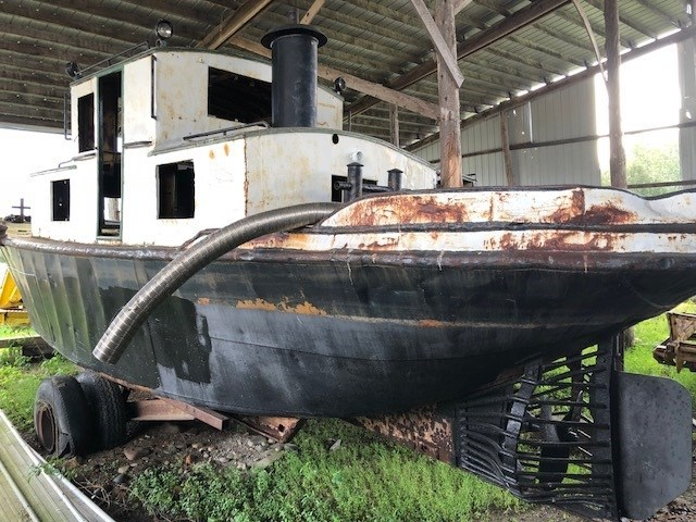 1945 PROJECT BOAT 35' RUSSEL BROS ALLIGATOR TUG Photo 1 sur 14