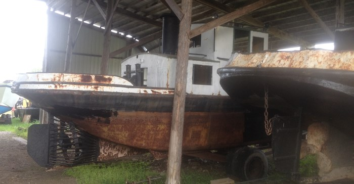 1945 PROJECT BOAT 35' RUSSEL BROS ALLIGATOR TUG Photo 5 sur 14