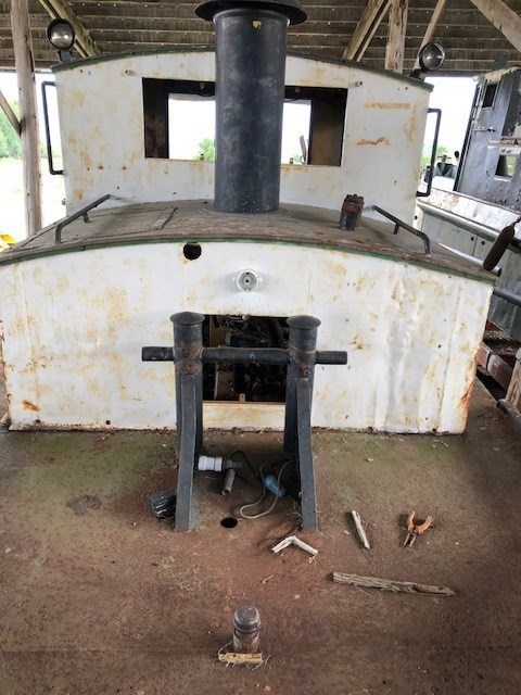 1950 PROJECT BOAT 38' RUSSEL BROS TUG Photo 3 sur 18