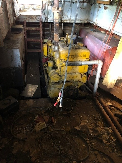 1950 PROJECT BOAT 38' RUSSEL BROS TUG Photo 11 sur 18