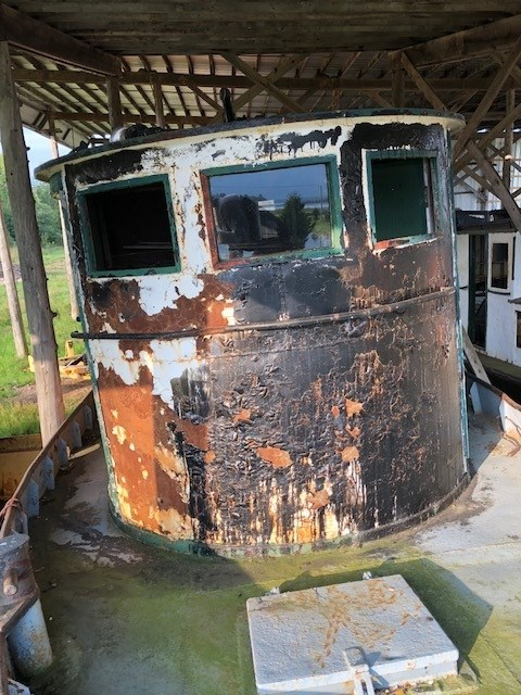 1950 PROJECT BOAT 38' RUSSEL BROS TUG Photo 7 sur 18
