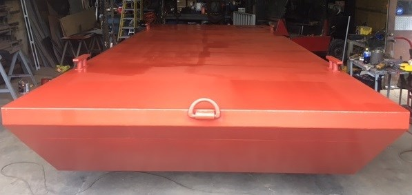 """2021 20' x 8' x 30"""" Steel Barge - BUILT TO ORDER Photo 2 of 5"""
