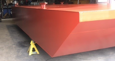 """2021 20' x 8' x 30"""" Steel Barge - BUILT TO ORDER Photo 5 of 5"""